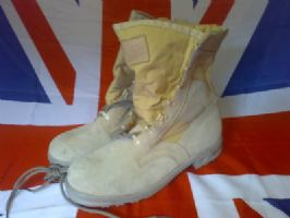 EX MILITARY GERMAN ARMY BALTES DESERT BOOTS